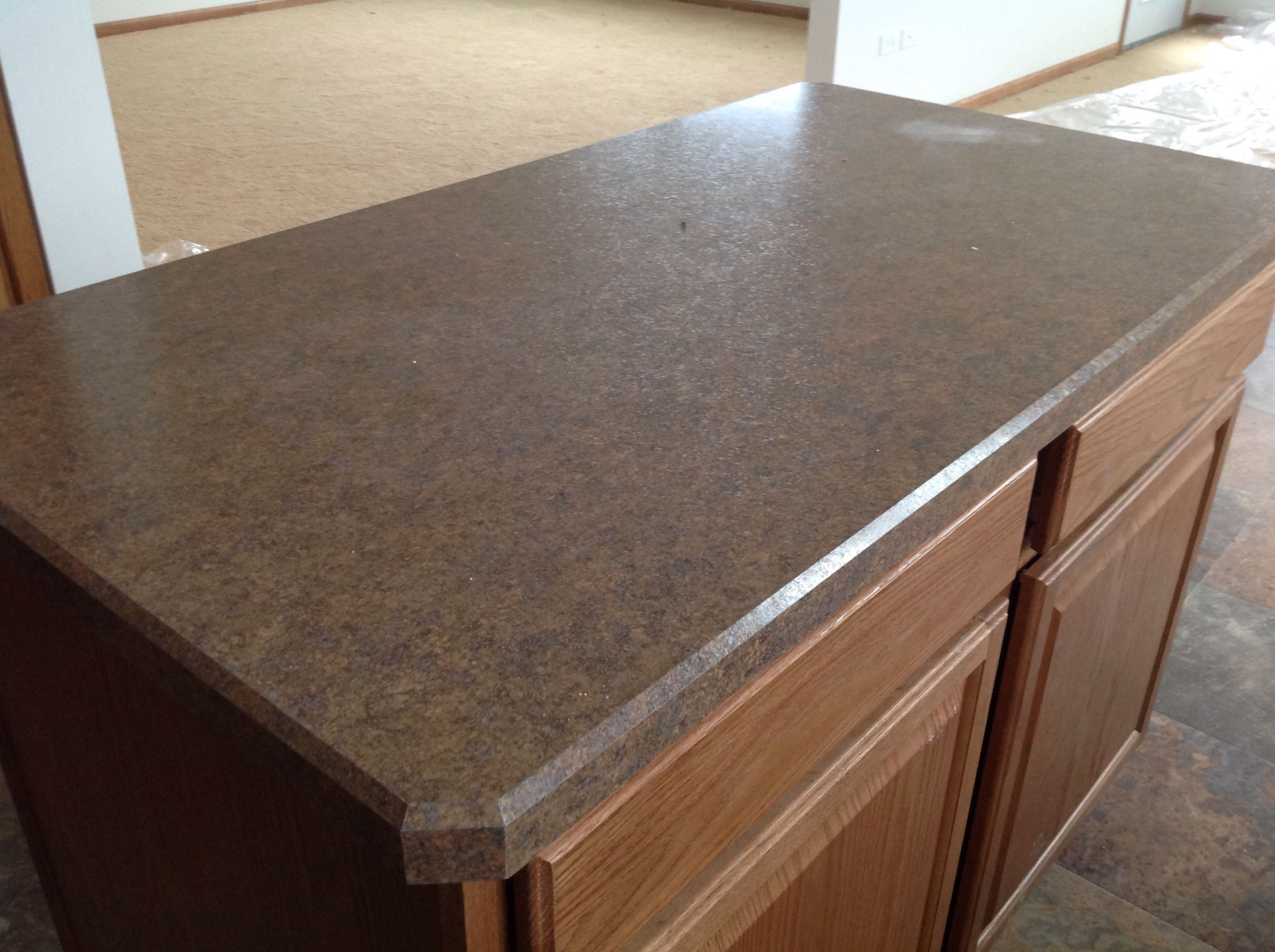 Wilsonart Hd Countertop With Beveled Edge Lago Vista