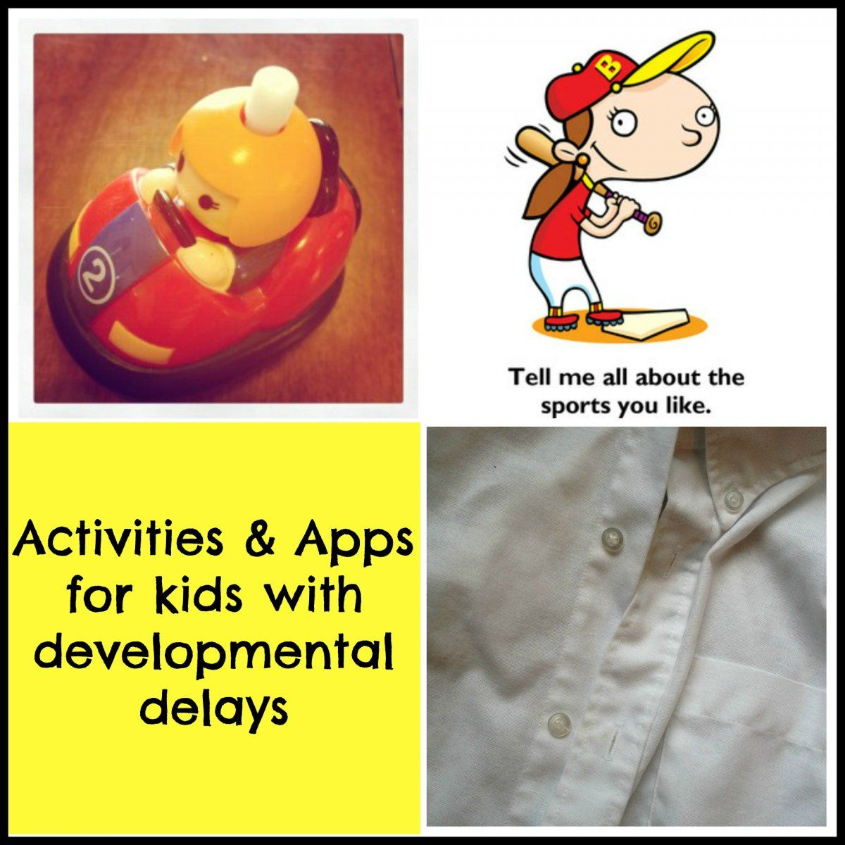 Activities Amp Apps For Kids With Developmental Delays