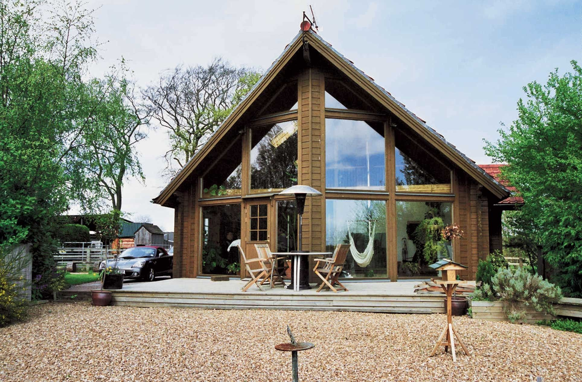 Eurohouse 159 M Sq Mountain Lodge Homes Log Home Kits