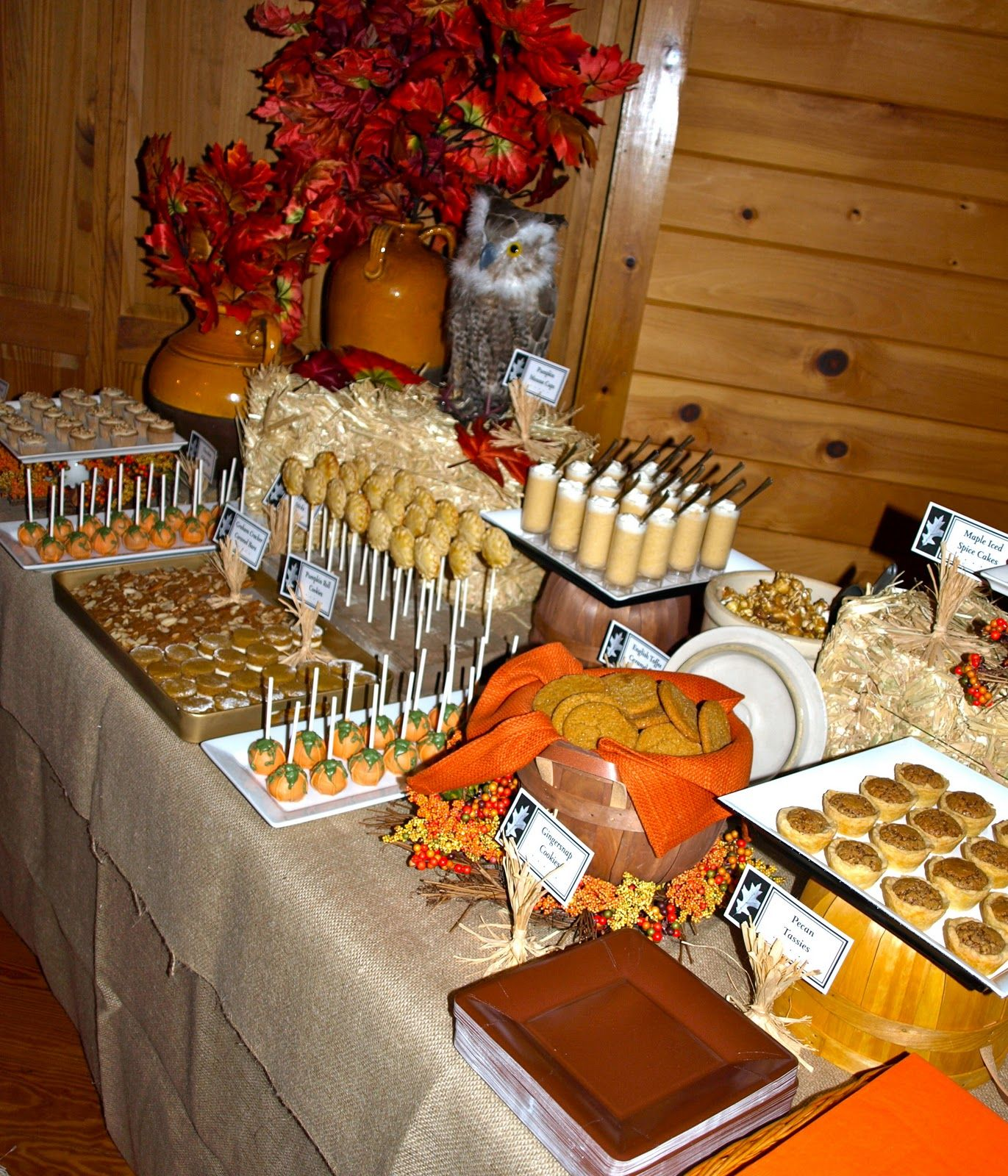 A Party Style fall festival dessert Buffet 2010 Have a