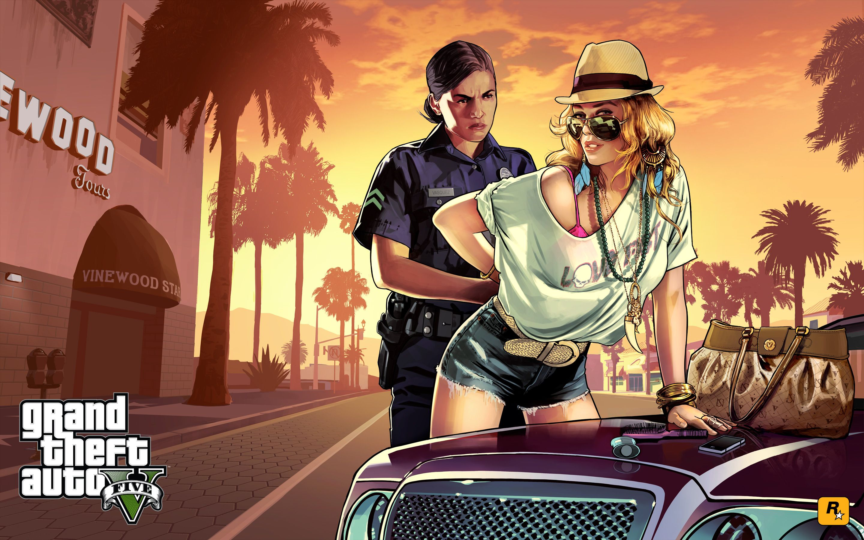 grand theft auto v high-resolution art collection | articles worth