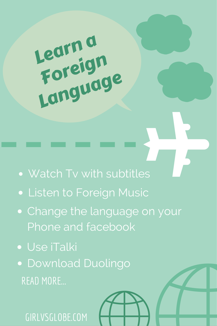 How to Learn a Foreign Language Without Leaving Your Bed