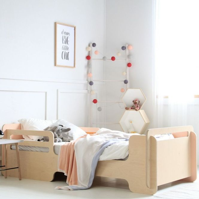 Single Kids Bed By Mubu Home Comes In Available A Range Of Pastel Colours Easy To Assemble Compact And Made Last