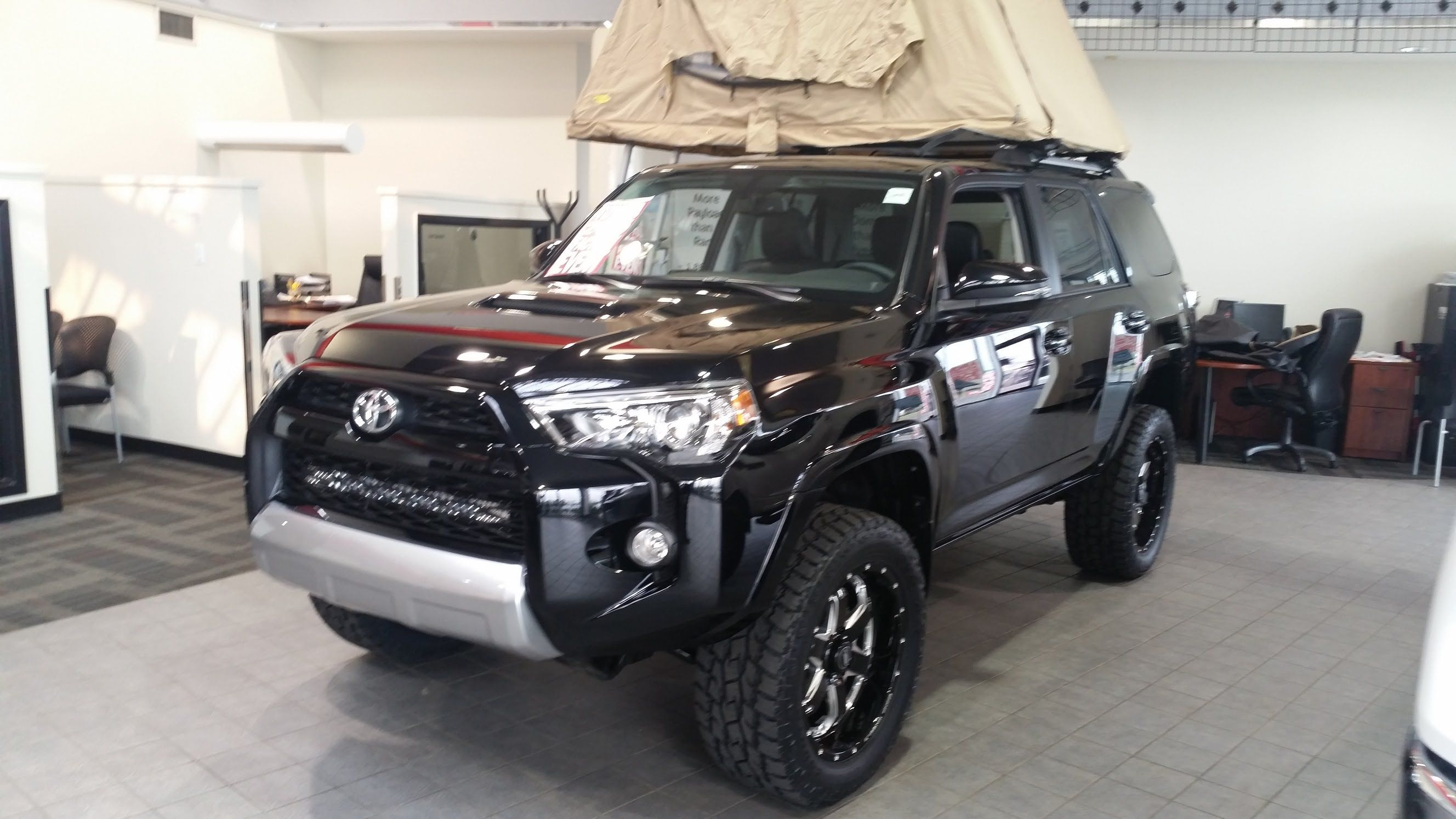 2015 Toyota 4Runner Trail Edition with a Lift kit and BMF