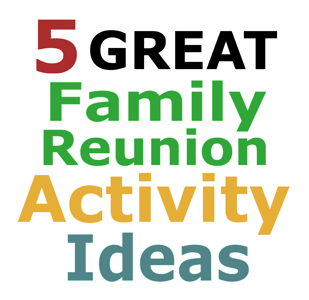 The Family Reunion Planners Blog Family Reunion Activity