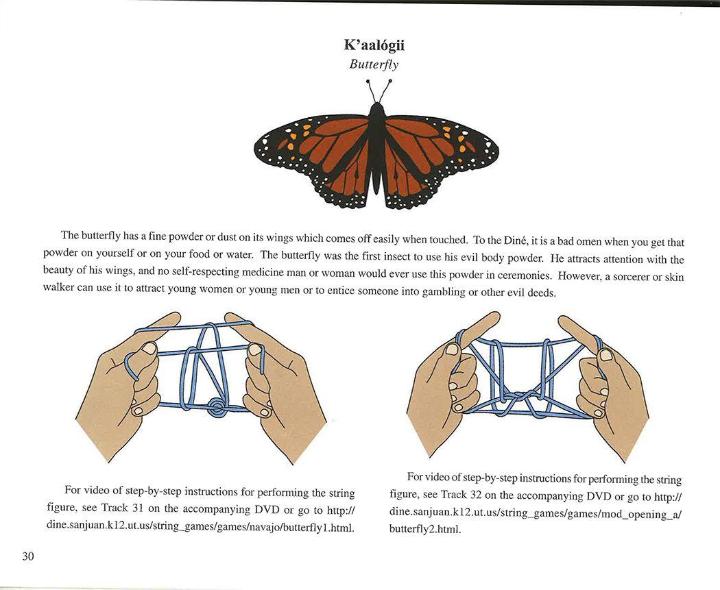 Navajo string game butterfly Navajo Pinterest Navajo