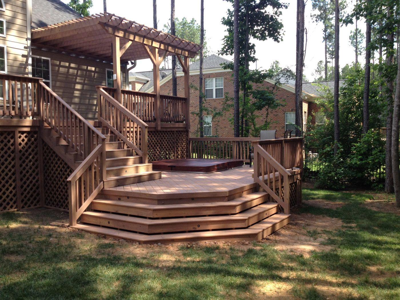Porch Bench, Decking