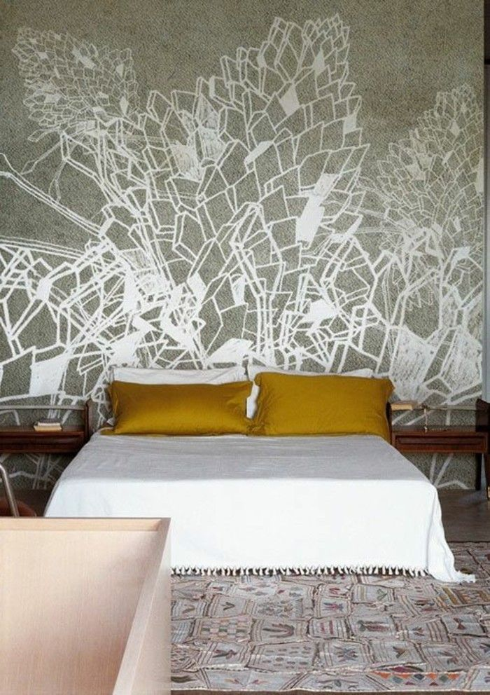 Les Papiers Peints Design En 80 Photos Magnifiques Papier Peint Design Chantemur Papier Peint Et Papier Peint
