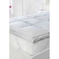 2 Single Bed Goose Feather Down Mattress Topper