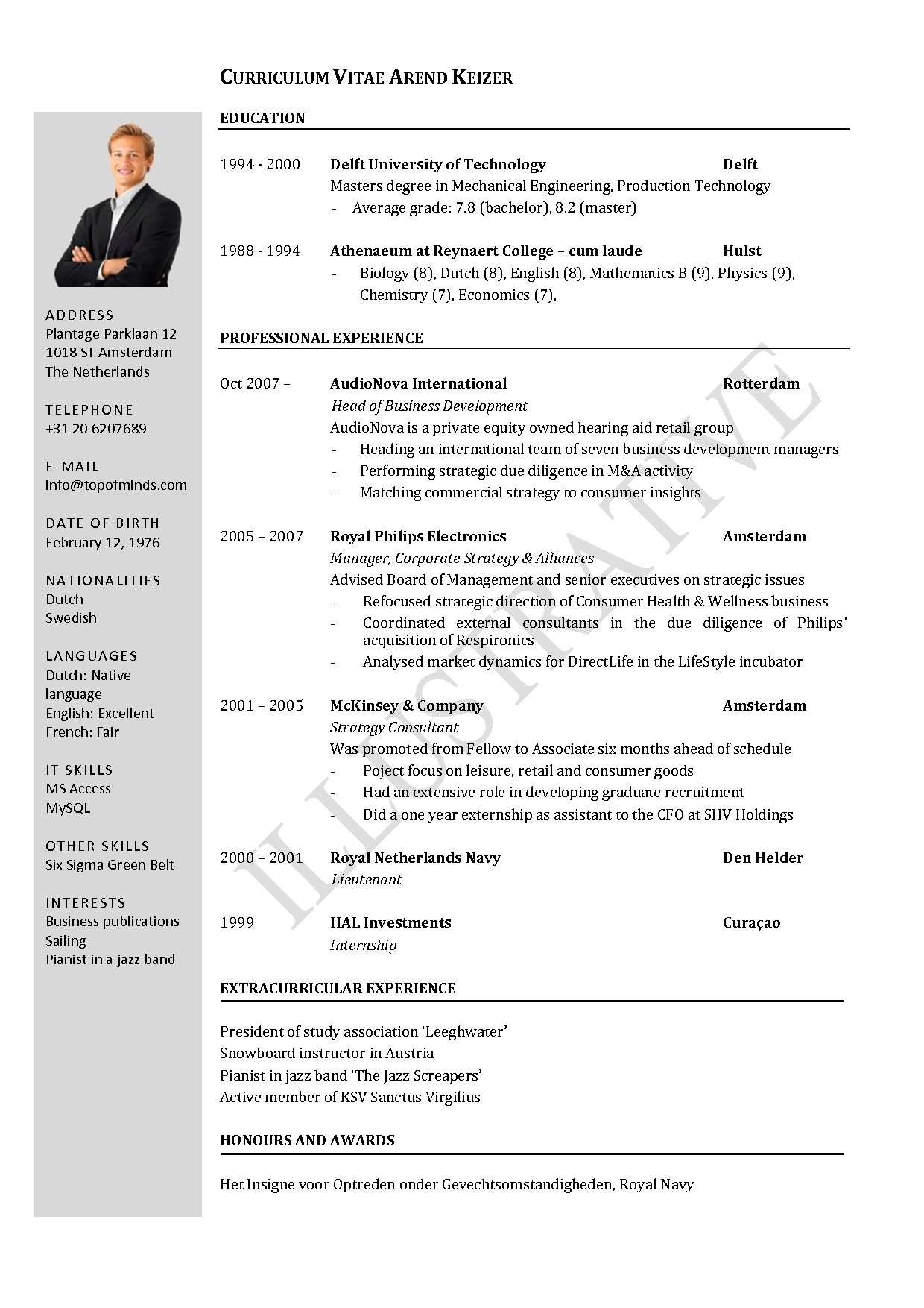 cv template templates and student on pinterest