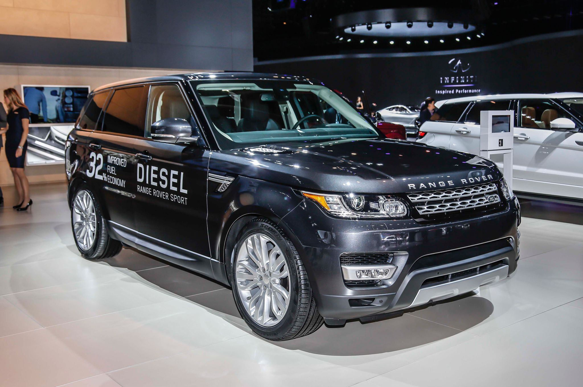 The 2015 land rover range rover sport delivers the luxury and