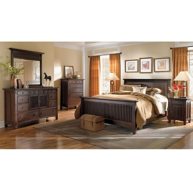 Arts & Crafts Dark Chest American Signature Furniture