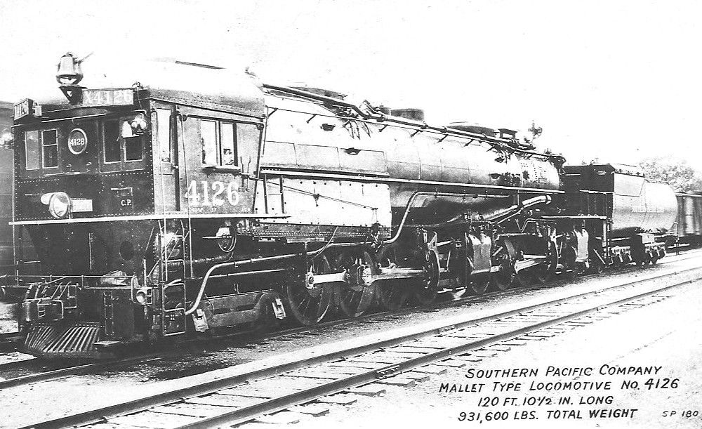 Southern Pacific Railroad's AC6 class of steam