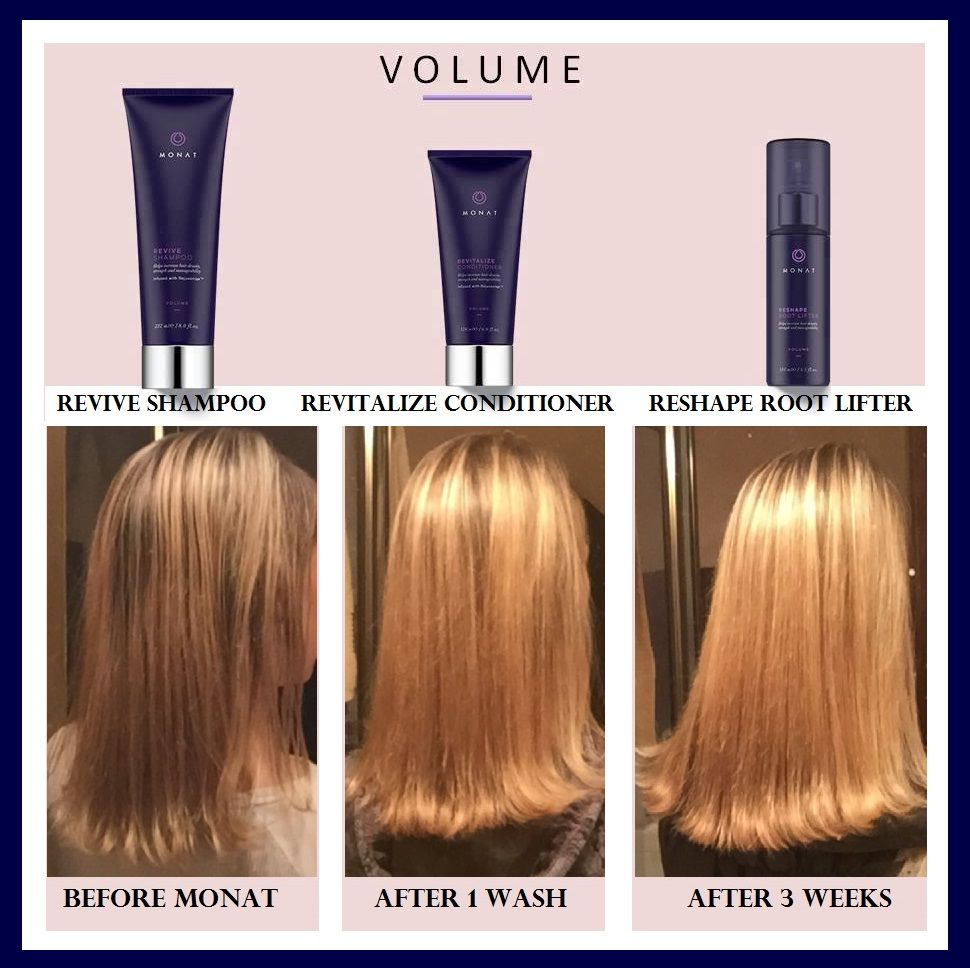 I love MONAT!! Improving hair with every wash...increased