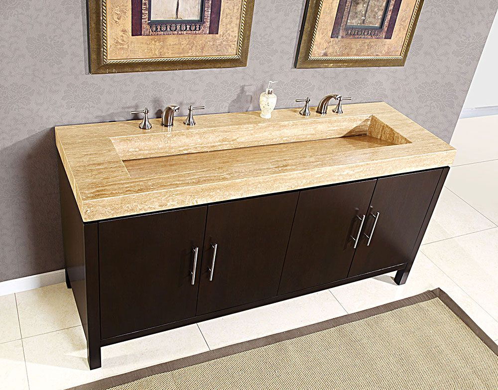 Whatgo Likes Silkroad Exclusive Bathroom Vanities Silkroad Exclusive Double Bathroom Vanity Hyp  Inches Wide