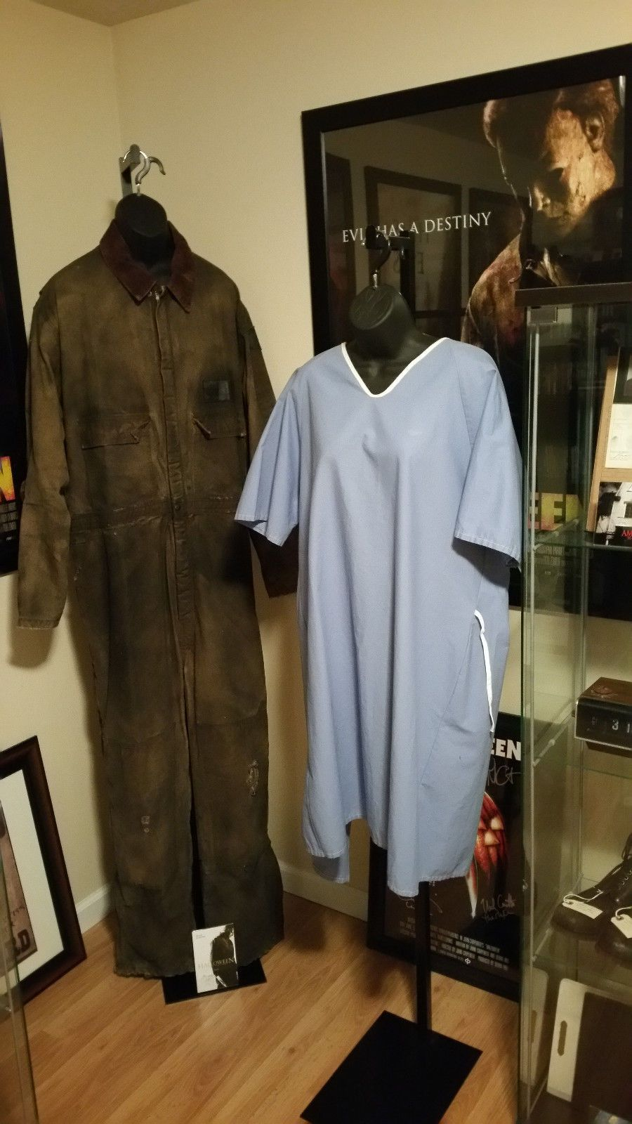Laurie Strode and Michael Myers costumes from H2 (2009