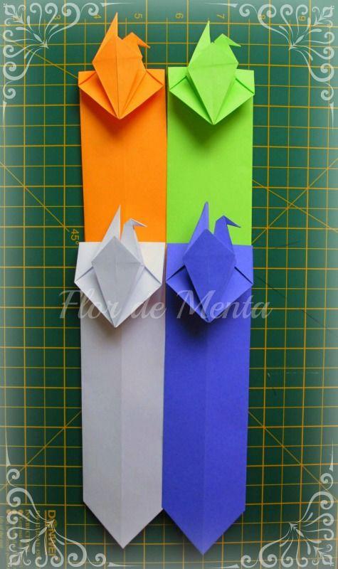 Marcador De Pgina Em Origami Com Tsuru Autor Desconhecido