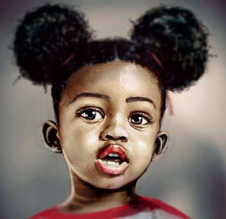 Image result for afro puffs