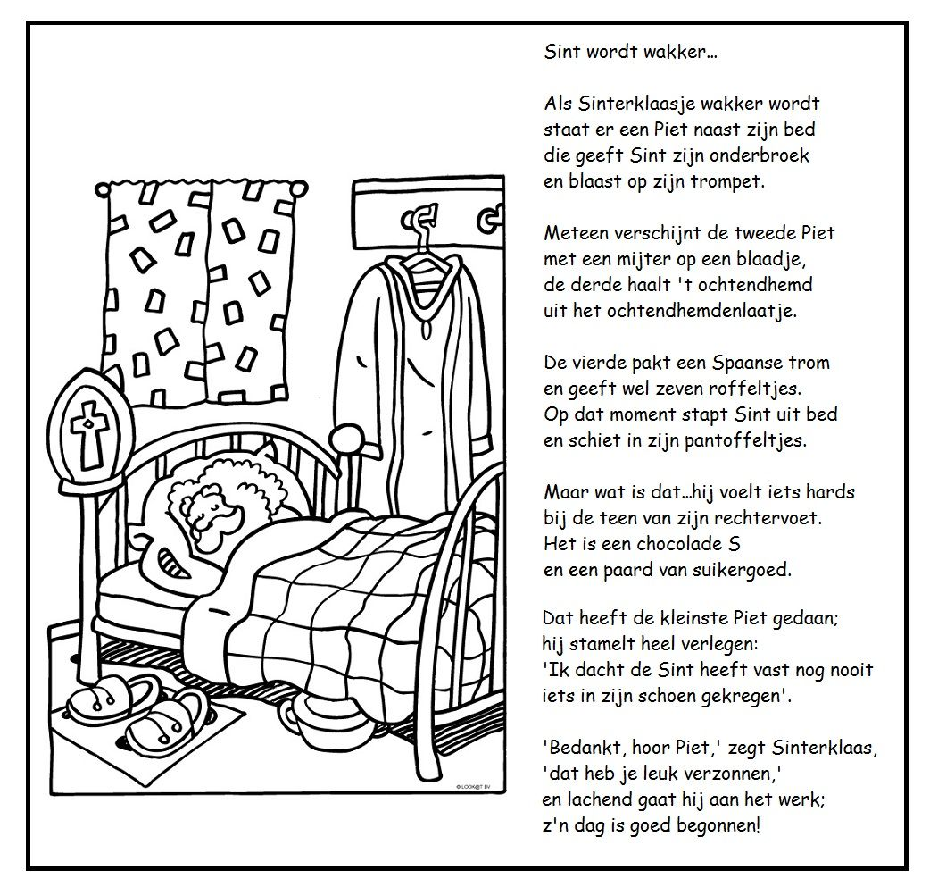 Versje Sint Wordt Wakker