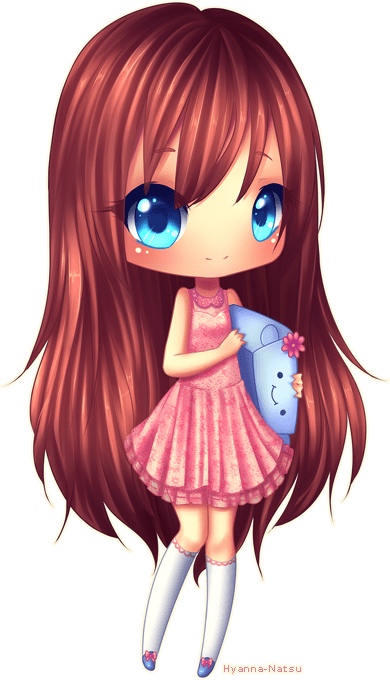 Chibi style 2 commission for Jigsu Awwwnn she's so cute