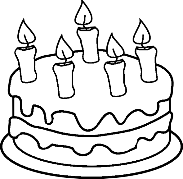 1000 images about birthday cake on pinterest coloring pages
