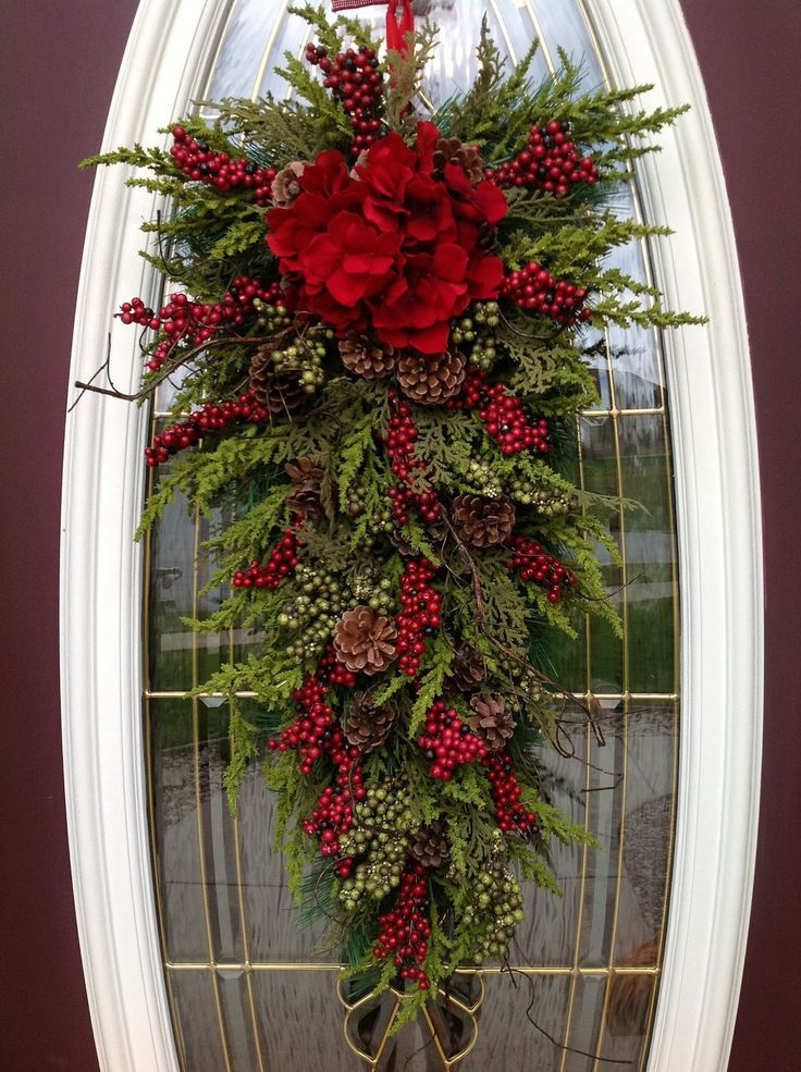 outdoor christmas swags wreaths Αναζήτηση Google