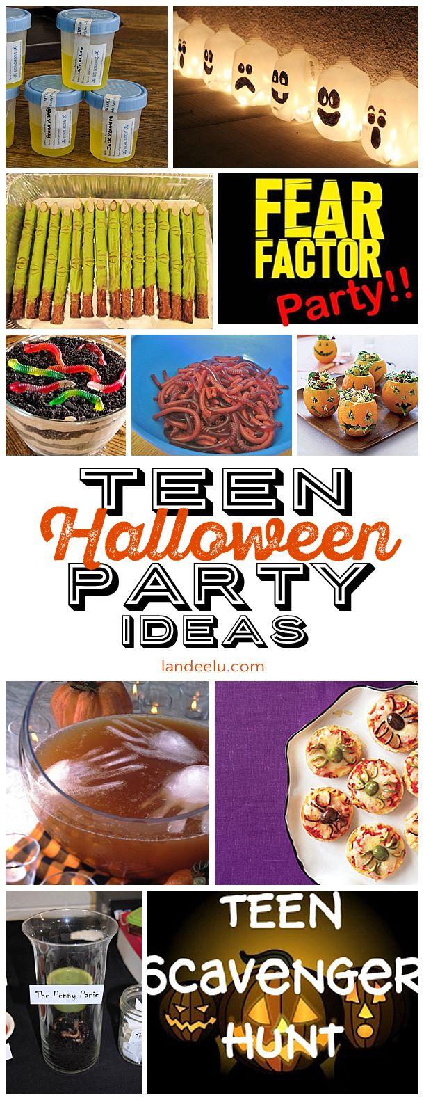 Teen Halloween Party Ideas Halloween parties, Tween and Teen