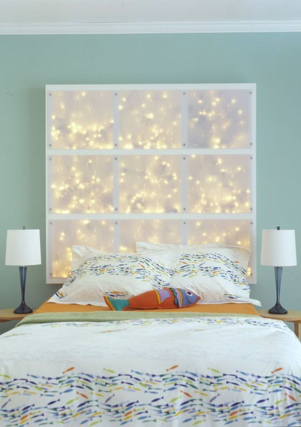 51 Best Creative DIY Headboard Ideas with Lights for Your Bedroom     51 Best Creative DIY Headboard Ideas with Lights for Your Bedroom