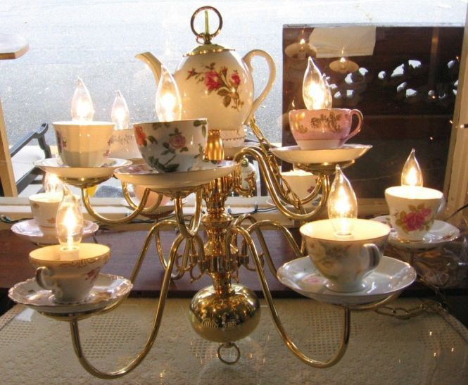 Gold Teacup Candle Holder Google Search