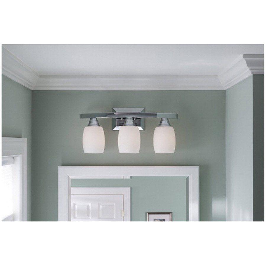 allen roth 3 light chrome bathroom vanity light lowe s canada