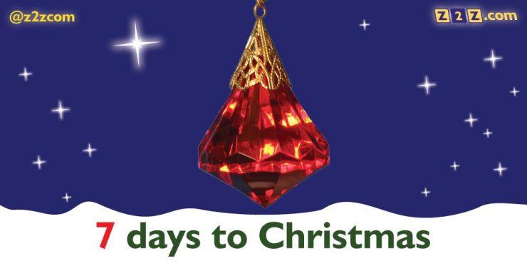 7 days to Christmas