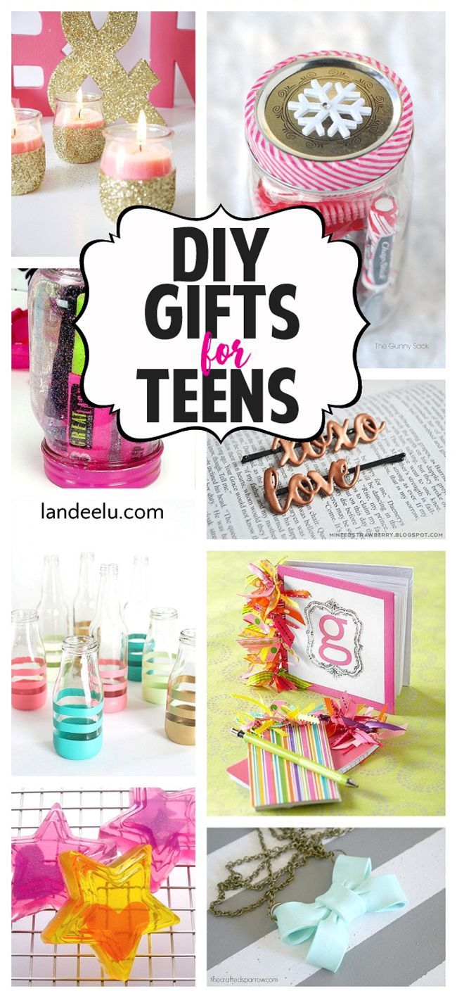 DIY Gift Ideas for Teens Birthdays, Awesome and Girls