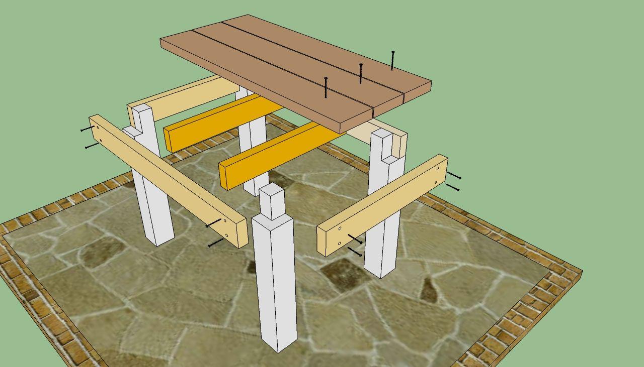 diy outdoor table Diy Outdoor Tables Plans PDF Plans