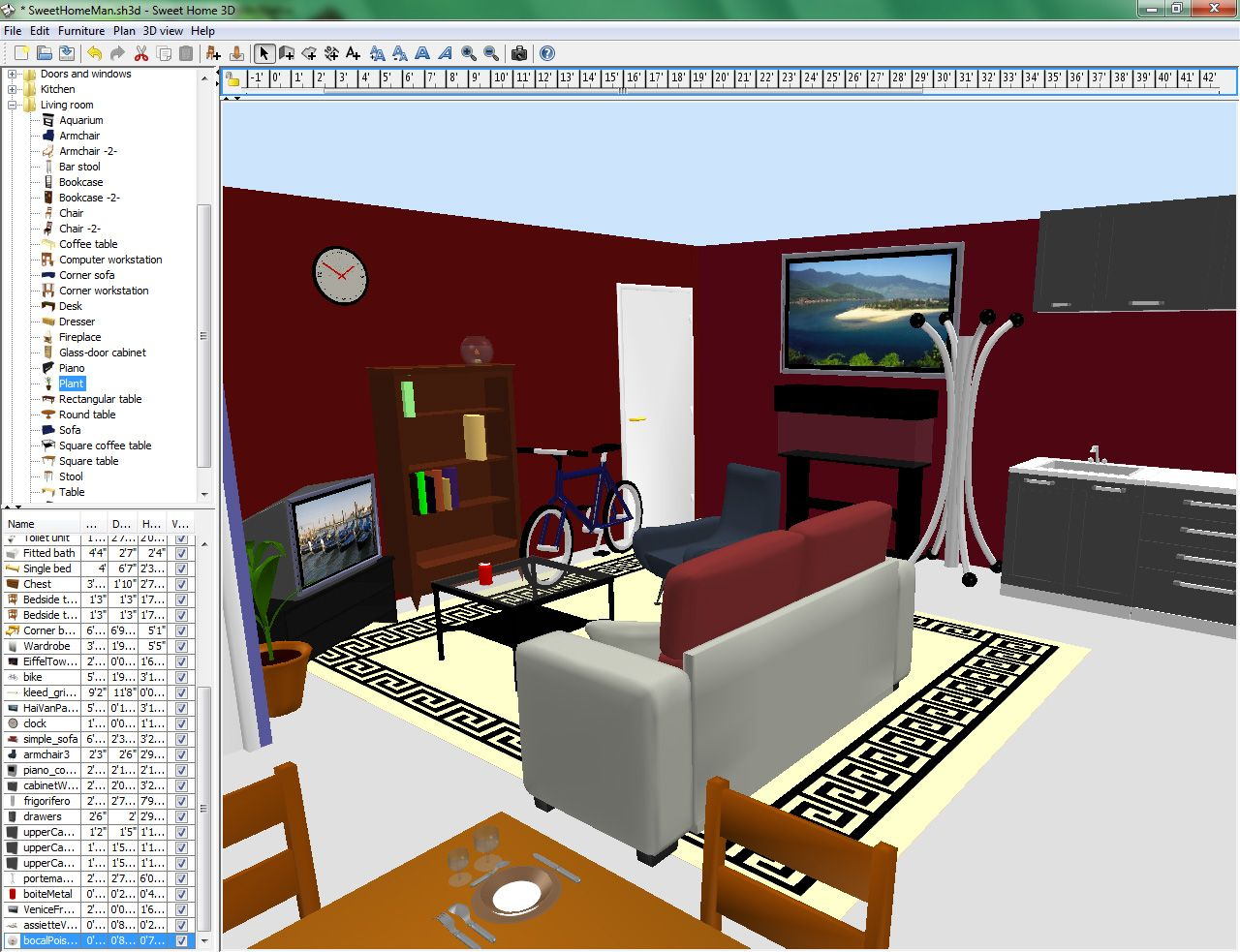 3d Interior Design Software For Mac Kitchen Design Chic What Program Can I Use To Design A Room V5 3 Sweet Home 3d Best Free Interior Design Application For Home Designer For