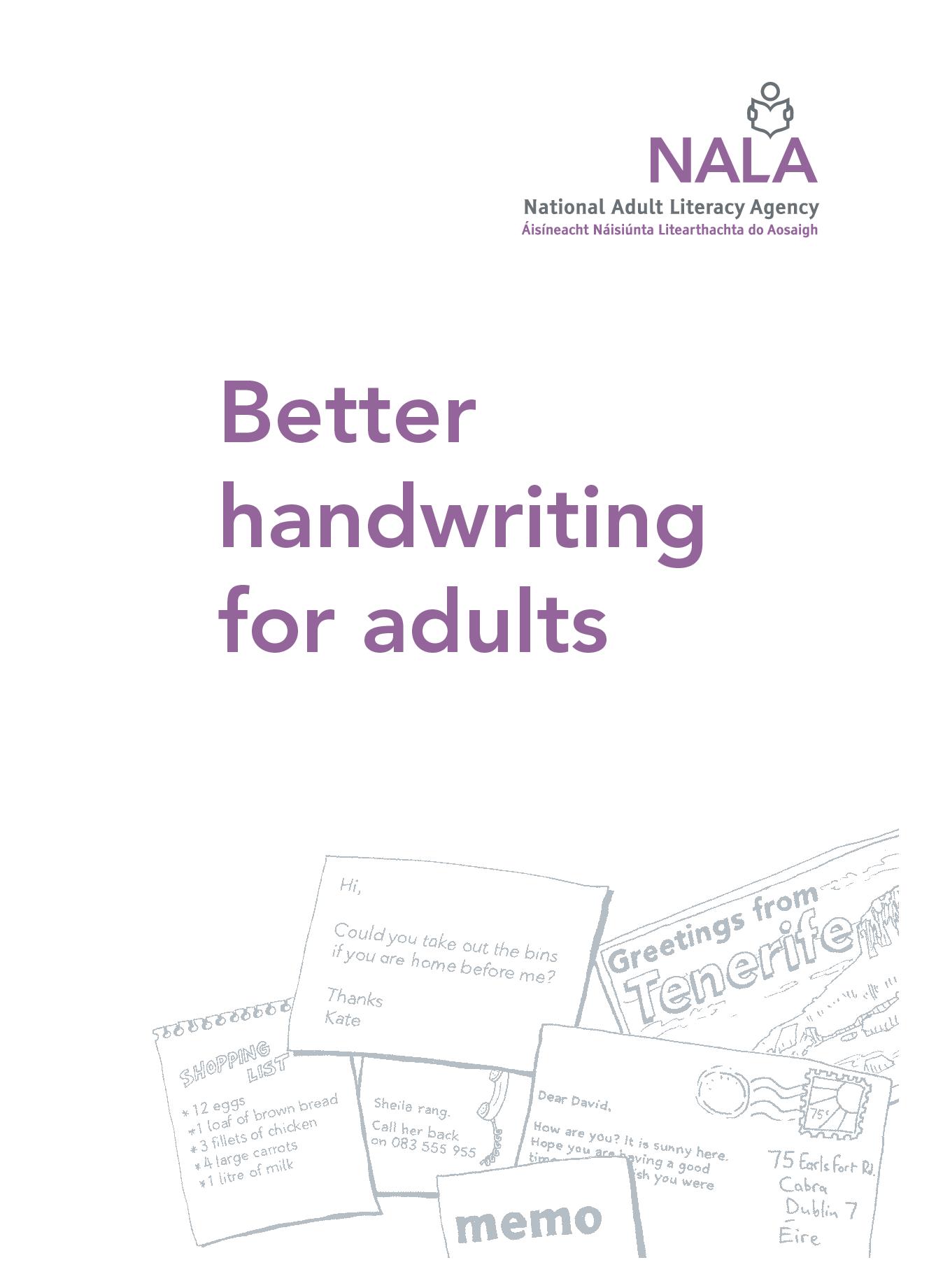 Adult Creative Writing Worksheets
