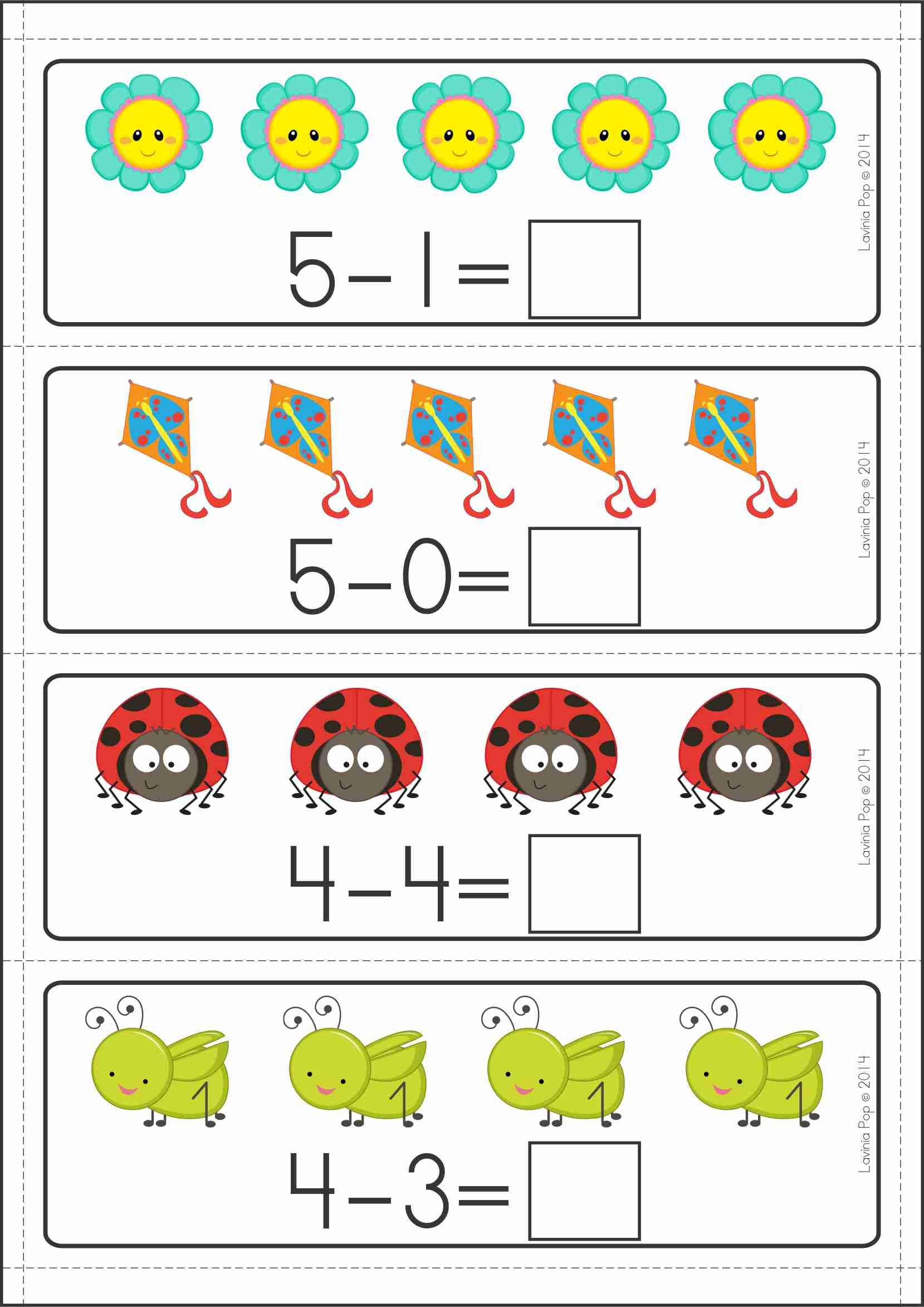 Kindergarten Math Centers SPRING. 137 pages in total. A