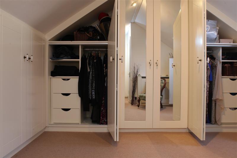 Closet Ideas For Attic Bedrooms