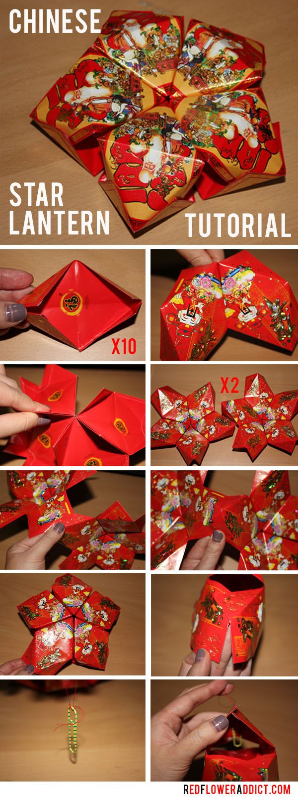 Haven't done this one yet ) Chinese New Year Star Lantern