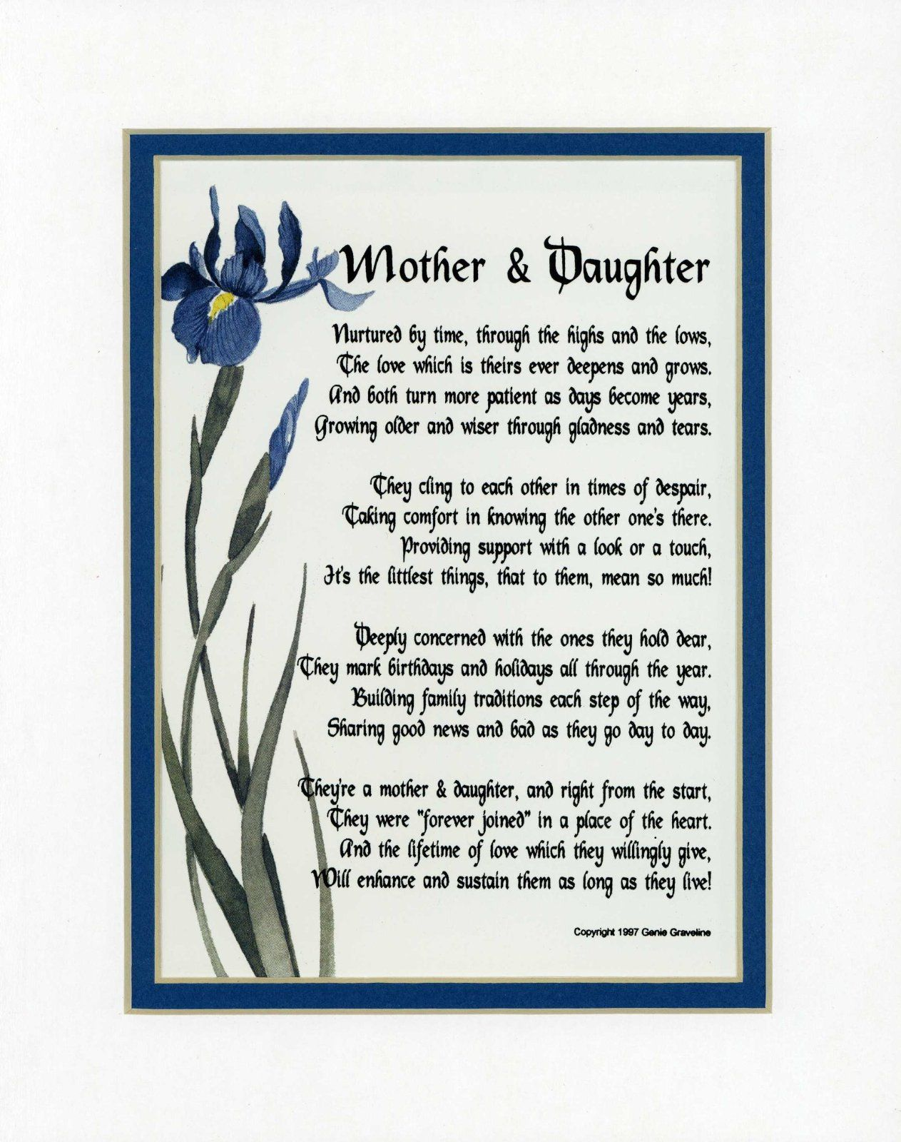 Long Distance Relationship Poems Long Distance Mother's