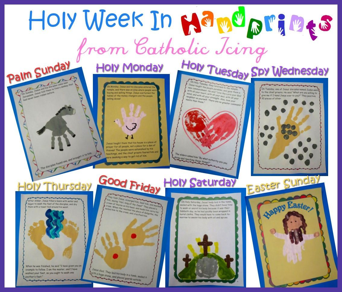 Sunday School Crafts During Holy Week