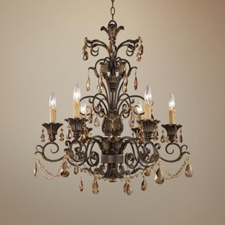 Trump Home Rochelle Collection 6 Light Chandelier