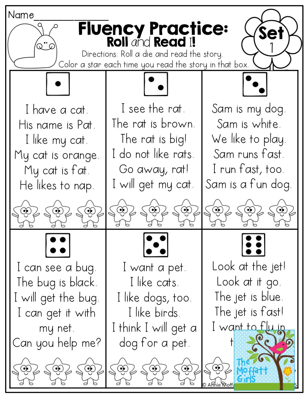 Worksheets For Kindergarten Read Roll Worksheets Best Free Printable Worksheets