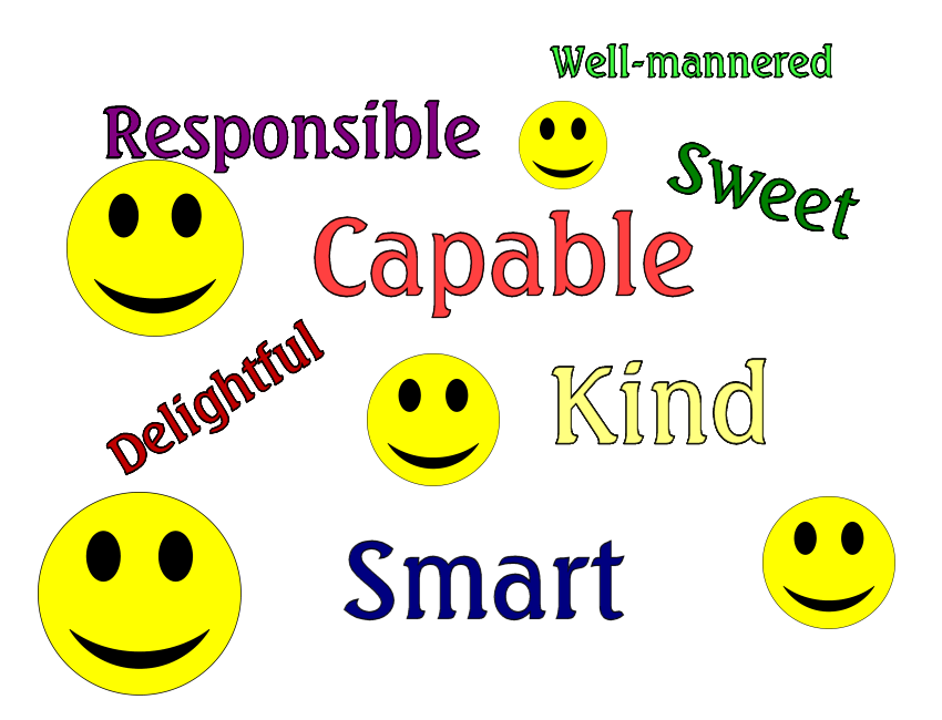 Nice Words To Describe Someone Google Search Ideas For