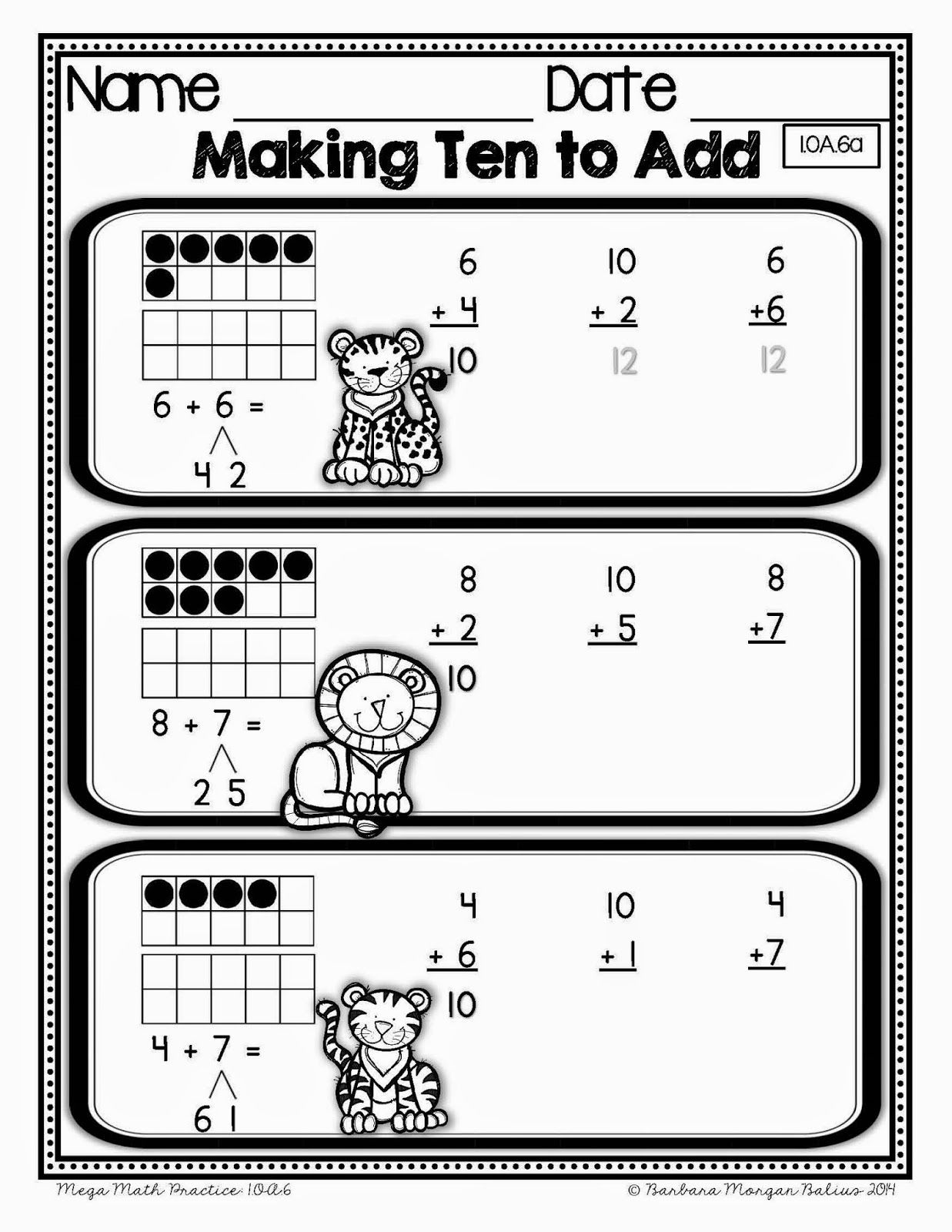 How Do You Teach The Making Ten Strategy