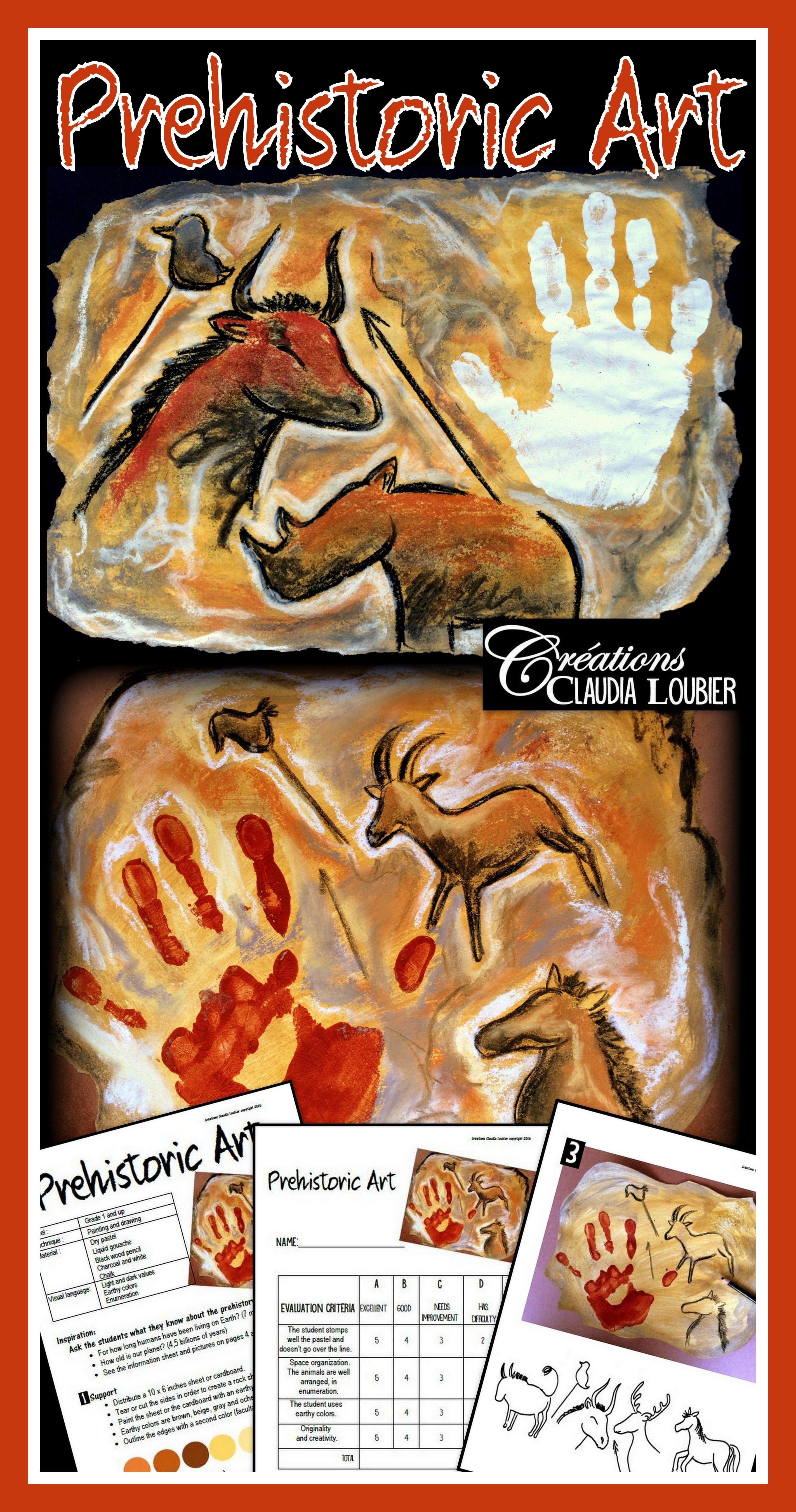 Prehistoric Art Art Lesson Plan