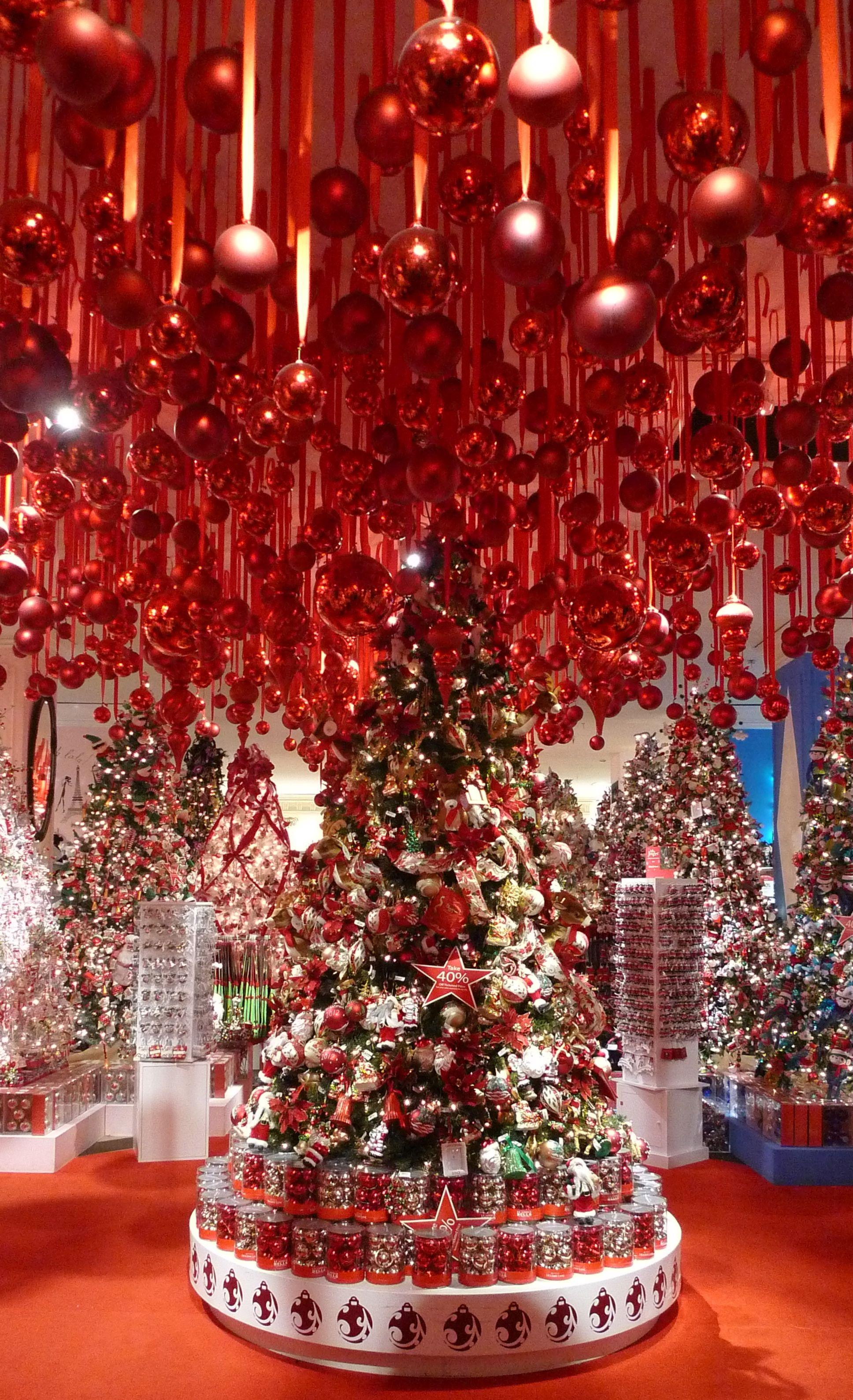 Macy's Christmas Decoration Shop New York City My