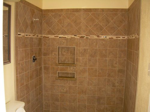 master bath new tile, shower walls, and floors | master