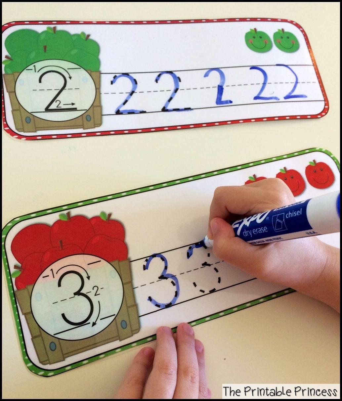 Apple Centers For Kindergarten Fall Theme