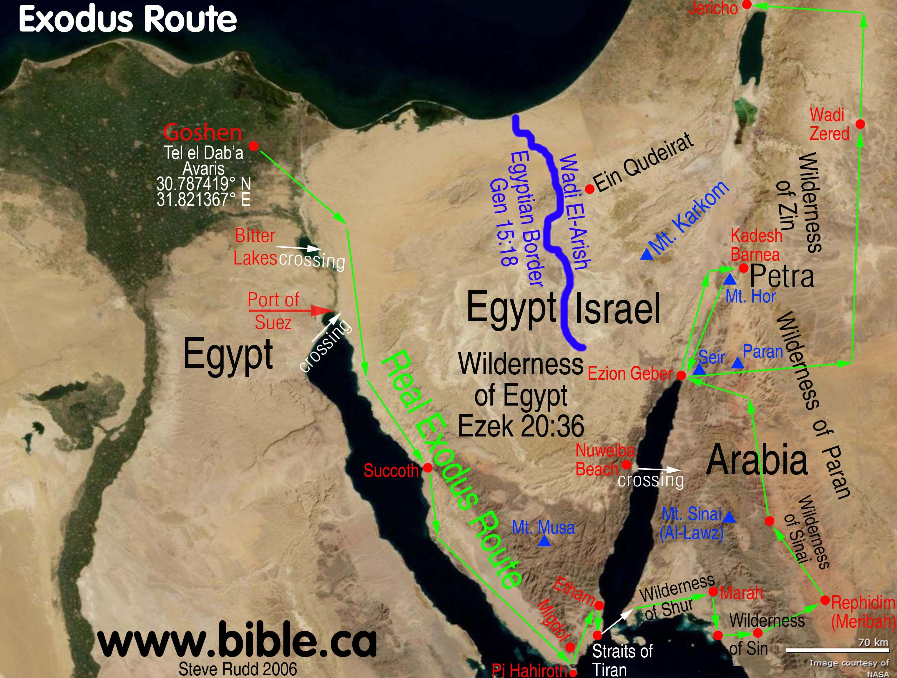 map of moses journey Google Search Bible Study