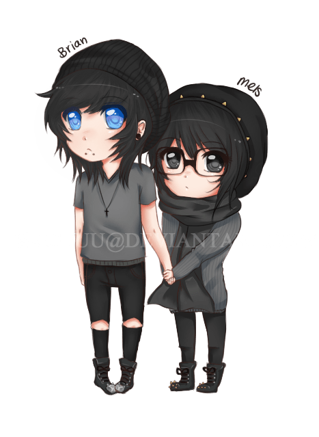 cute anime chibi couples Google Search cute anime